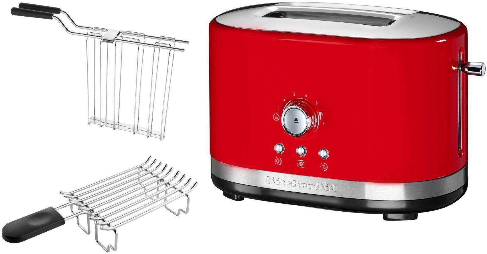 KitchenAid Toaster 5KMT2116EER, für 2 Scheiben, 1200 W, empire rot