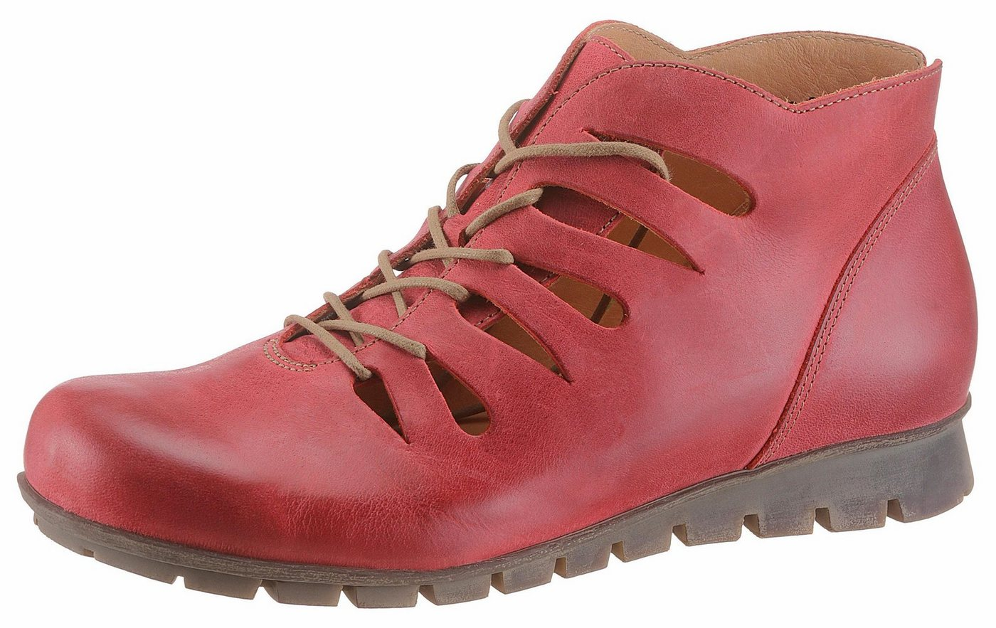 Think! Sommerboots in Sacchetto-Machart | Schuhe > Boots > Sommerboots | Rot | Think!