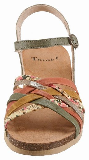Think! Sandal, In Beautiful Colorway