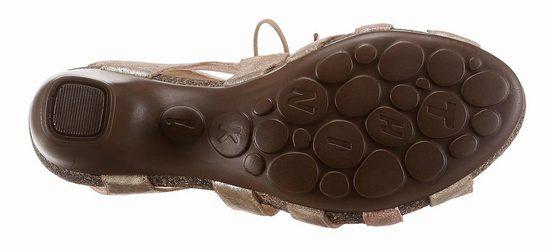 Think! Sandalette, Mit praktischer Schnürung