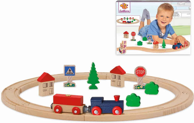 Eichhorn Spielzeug-Eisenbahn »Kreis, 20-tlg.«, (Set, 20-tlg), aus Holz; Made in Europe