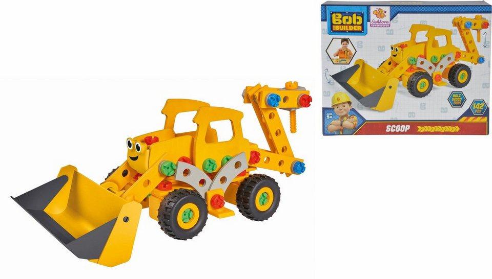 3bf4043da82c84 Eichhorn Konstruktionsspielzeug aus Holz, »Bob der Baumeister, Constructor,  Bagger Scoop« online kaufen | OTTO