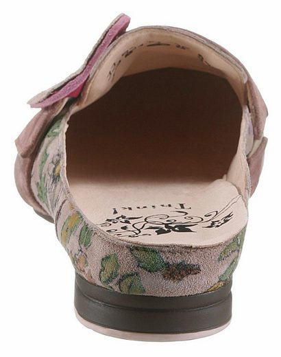 Think! Clog, Decorative Buckle With Striking