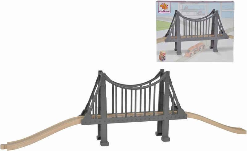Eichhorn Spielzeugeisenbahn-Brücke »Eichhorn Schienenbahnset aus Holz, »Hängebrücke, 3-tlg.«, Made in Europe, FSC®-Holz aus gewissenhaft bewirtschafteten Wäldern