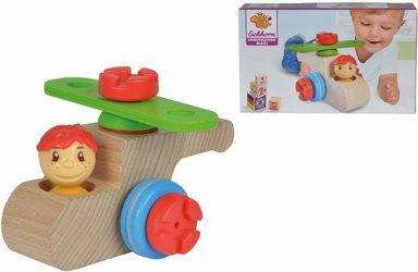 Eichhorn Konstruktionsspielzeug aus Holz, »Constructor Maxi, Hubschrauber, 9-tlg.«
