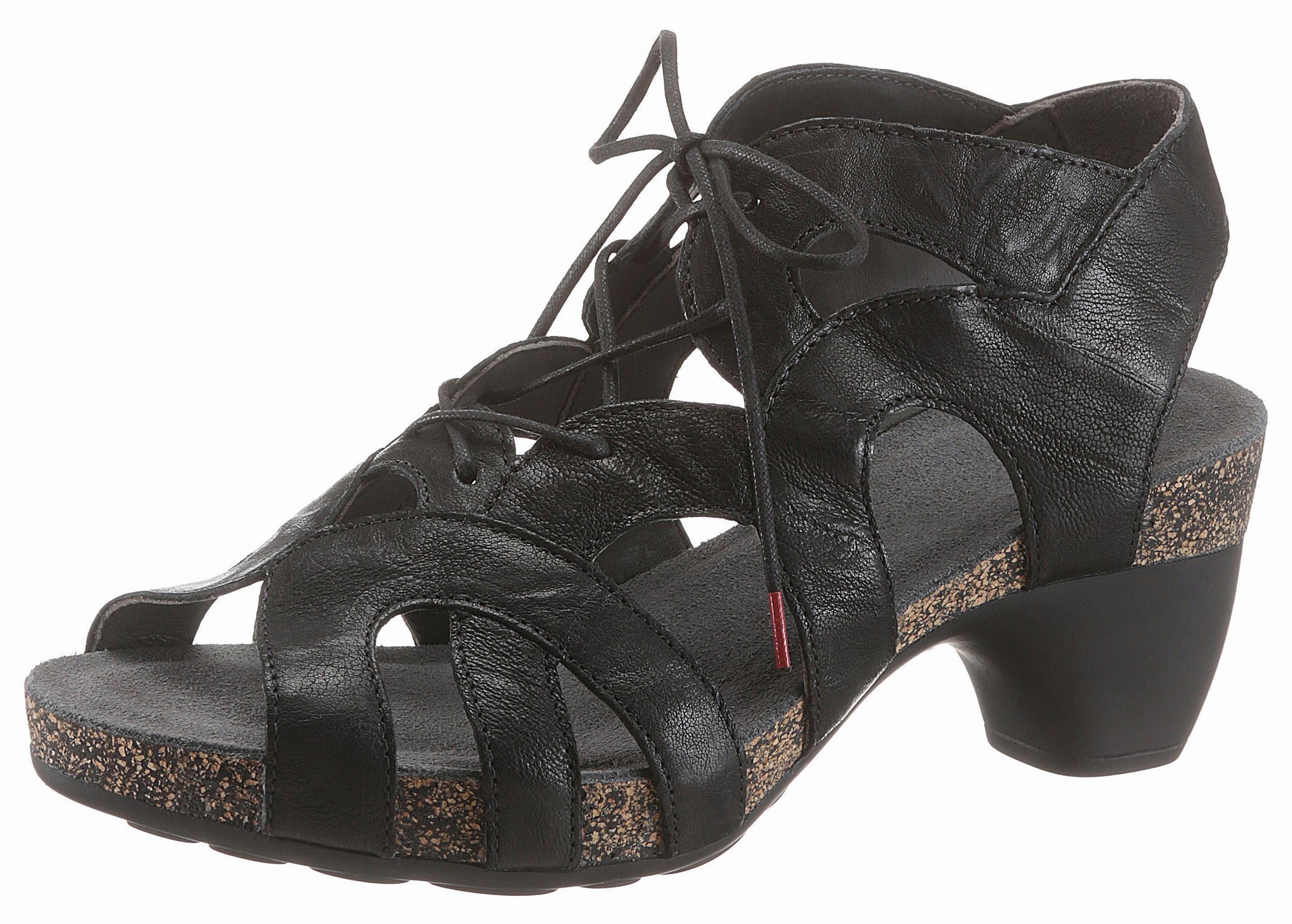 Think! Sandalette, in trendiger Optik kaufen  schwarz