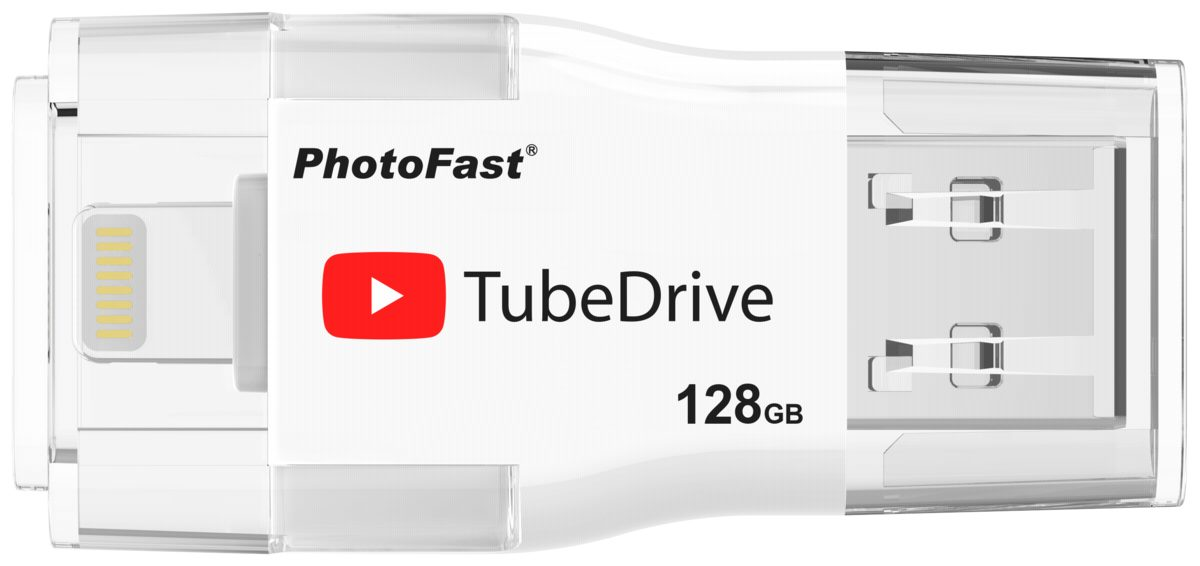 PhotoFast USB-Stick OTG »TubeDrive 128GB USB 3.0«