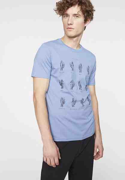 Armedangels T-Shirt »James Foxy Fox«, Zertifizierung: Fairtrade, GOTS, organic, CERES-008