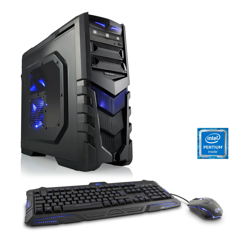 CSL Gaming PC | Pentium G4560 | GTX 1050 Ti | 16 GB DDR4 RAM | SSD »Speed T1571 Windows 10 Home«
