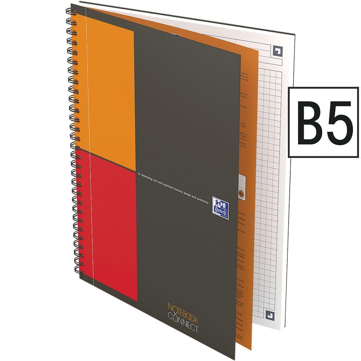 OXFORD International Notebook 400080784 B5 kariert »Connect«