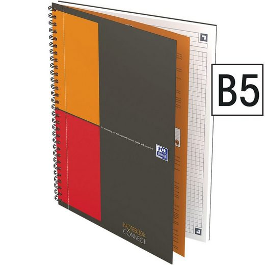 OXFORD Business Collegeblock B5 kariert »International Notebook«