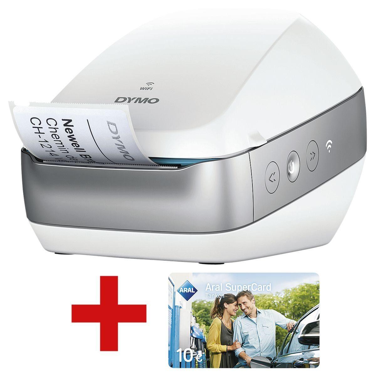 DYMO Etikettendrucker Wireless inkl. 2x Tankgutschein »Labelwriter« 1 Set