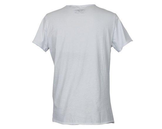 Brotherhood Bedrucktes T-Shirt mit Wolfskopf
