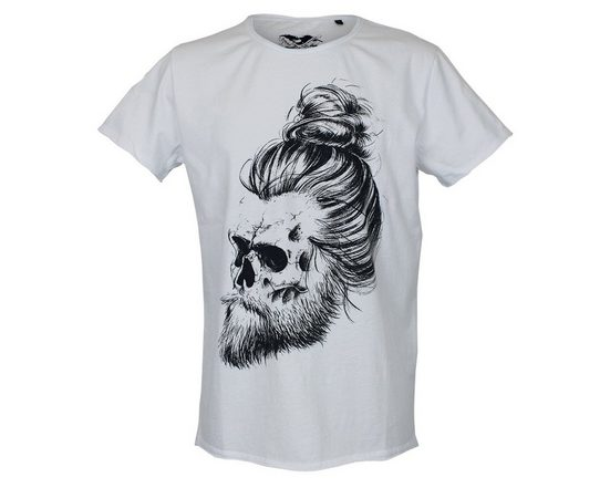 Brotherhood Quality T-shirt With Skull-motif