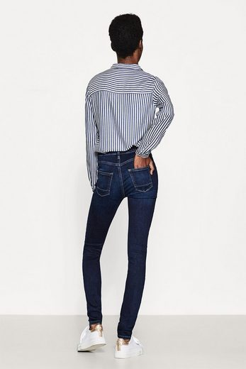 Esprit Shaping Denim With A High Collar And Saddle