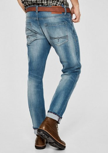 s.Oliver RED LABEL Close Slim: Used-Jeans