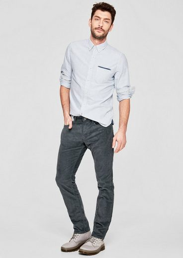 s.Oliver RED LABEL Close Slim: Hose aus weichem Cord