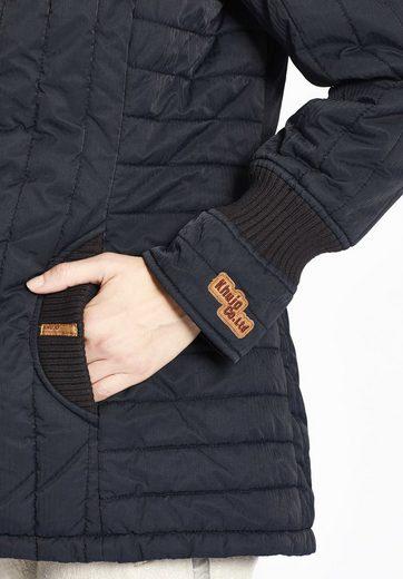 khujo Steppjacke TWEETY PRIME, mit Strickeinsätzen an Ärmeln und Taschen