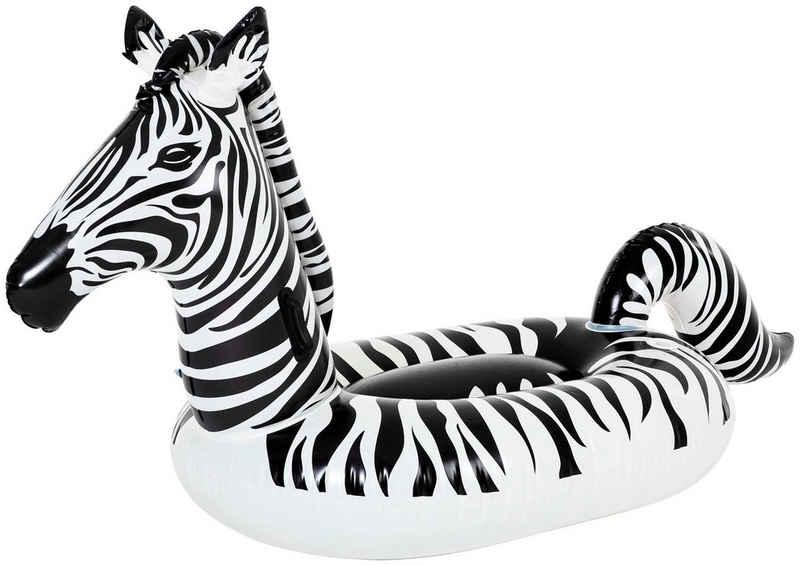 Bestway Schwimmtier »Zebra«, BxLxH: 104x246x122 cm, mit LED-Licht