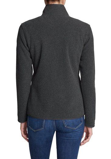 Eddie Bauer Boucle Fleece Shirt With Zipper