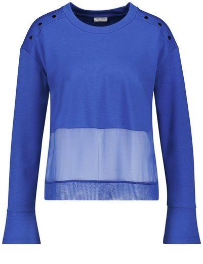 Gerry Weber T-Shirt 1/1 Arm Longsleeve mit modischen Details