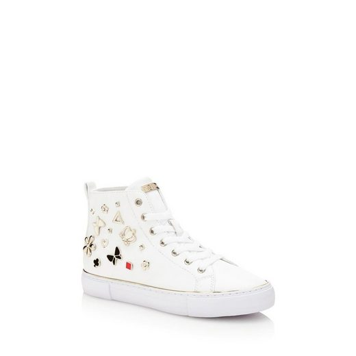 Guess SNEAKER GARBILLE MIT APPLIKATIONEN