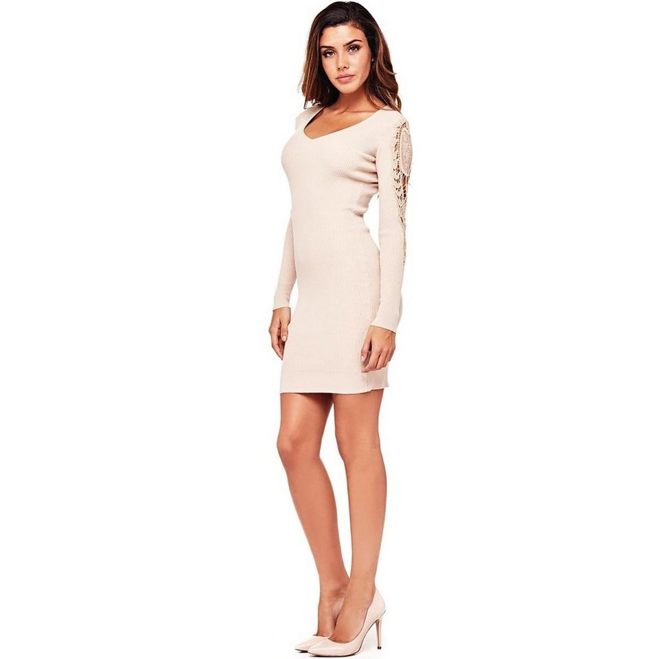 Kleid Mit Ärmeln Aus Spitze – Mode-Modell Geschichte