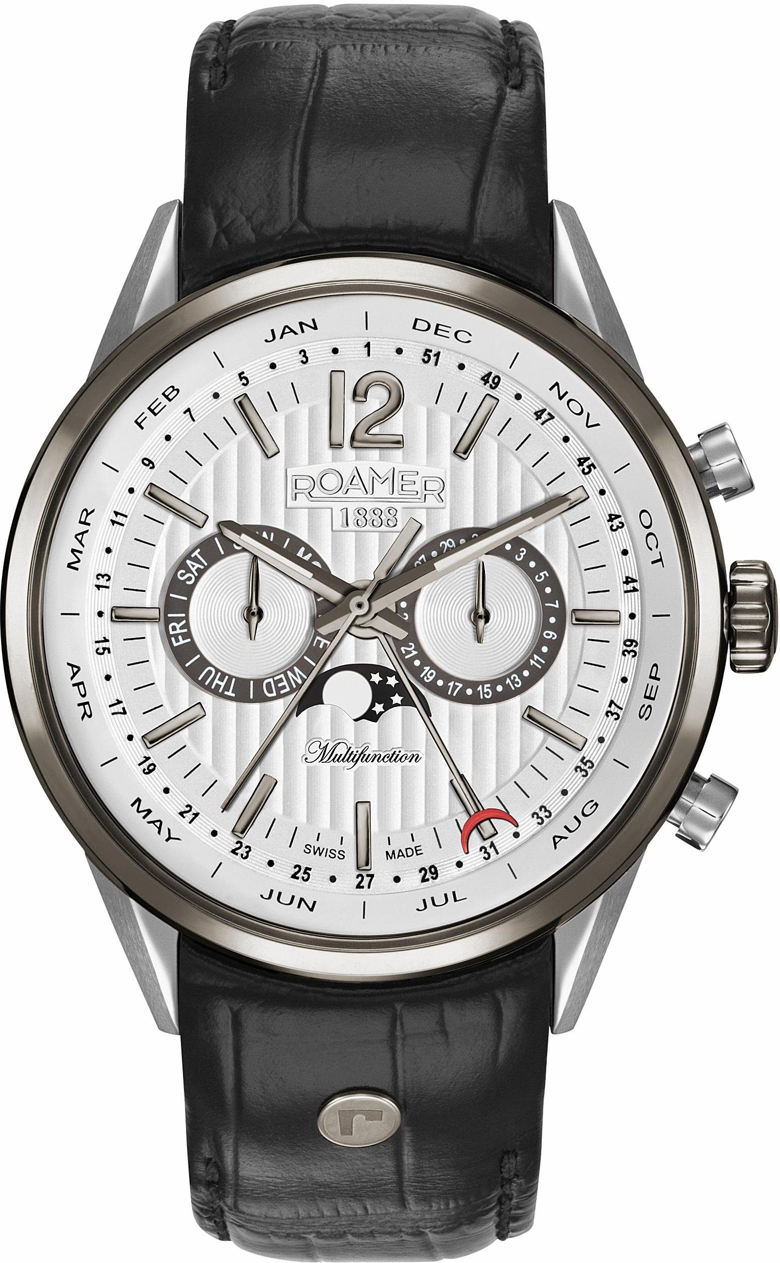 Roamer Multifunktionsuhr »SUPERIOR BUSINESS MULTIFUNCTION, 508822 40 14 05«