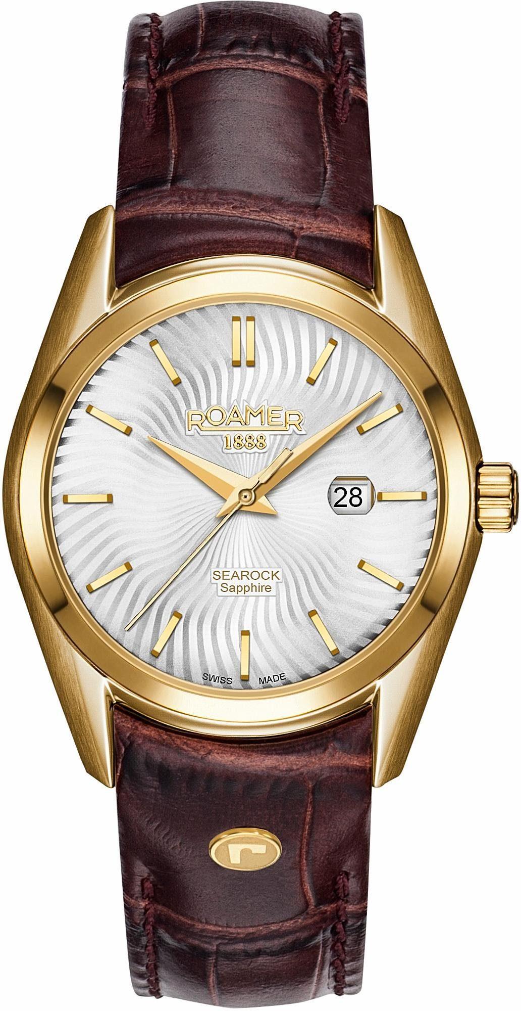 Roamer Schweizer Uhr »SEAROCK LADIES 34 MM, 203844 48 15 02«