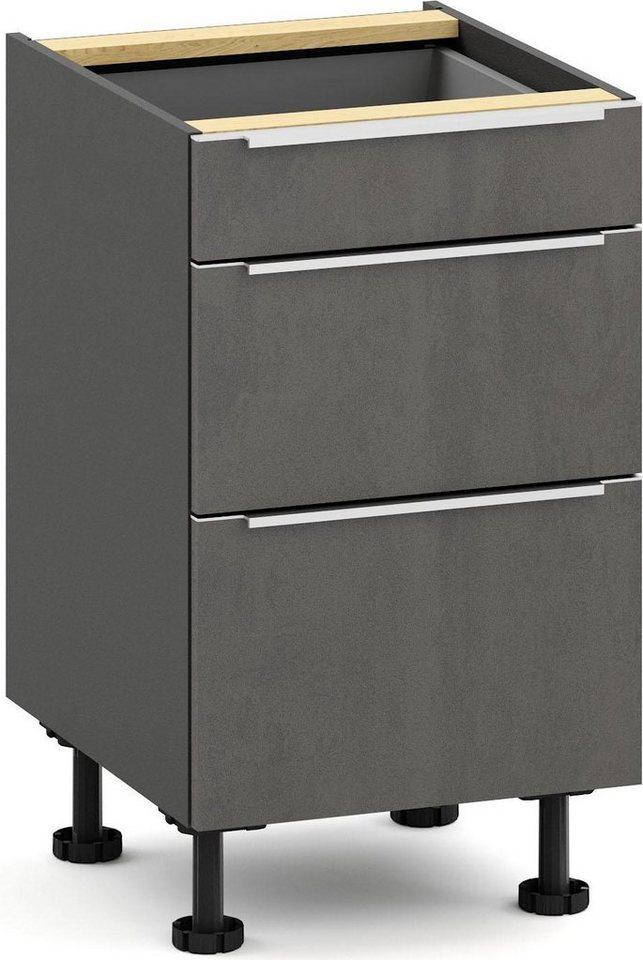 Küchenschränke - S by Störmer Unterschrank »Melle Premium«, Breite 50 cm, vormontiert  - Onlineshop OTTO