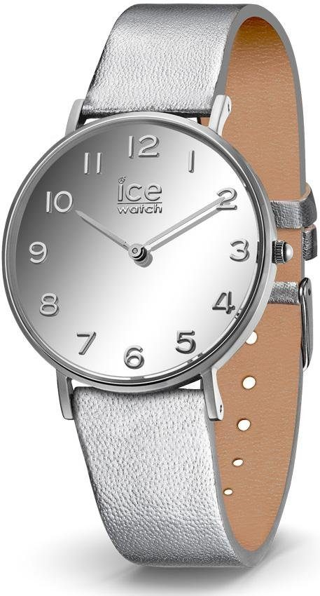 ice-watch Quarzuhr »CITY mirror - Silver - Small - 2H, 014433«
