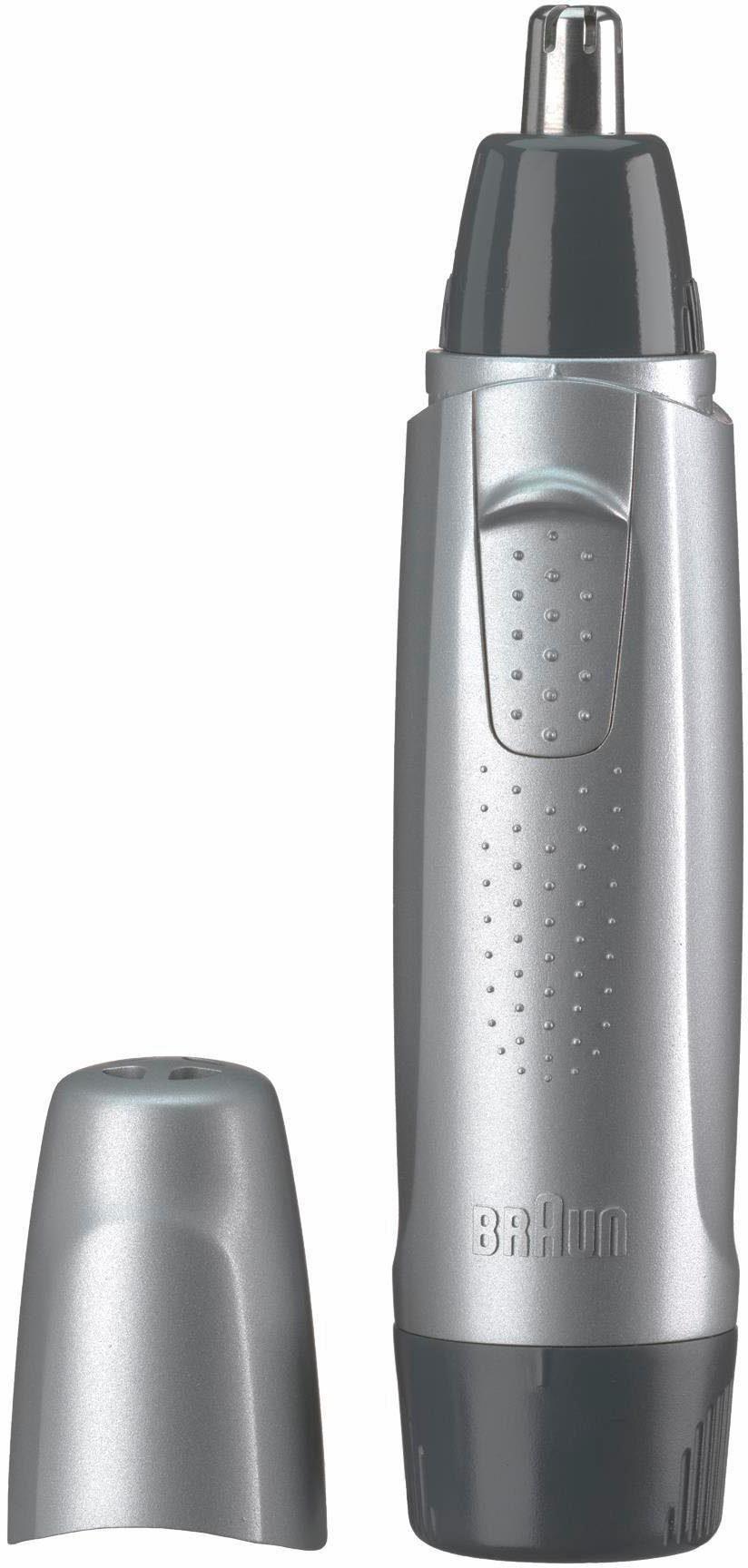 Braun, Trimmer Ear&Nose EN10, sichere Entfernung von Ohr-und Nasenhaaren