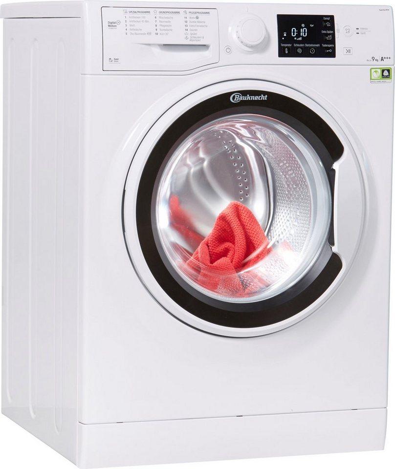 bauknecht waschmaschine super eco 9418 9 kg 1400 u min online kaufen otto. Black Bedroom Furniture Sets. Home Design Ideas