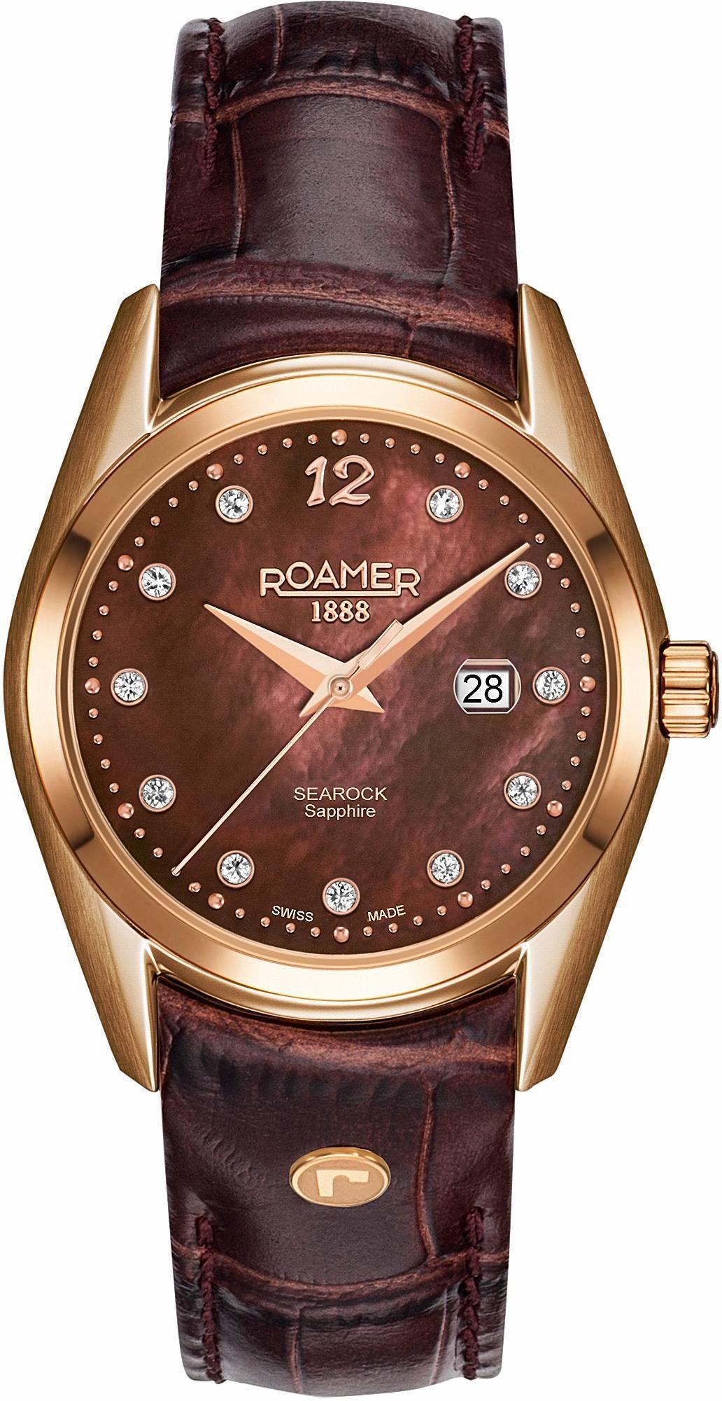 Roamer Schweizer Uhr »SEAROCK LADIES 34 MM, 203844 49 69 02«