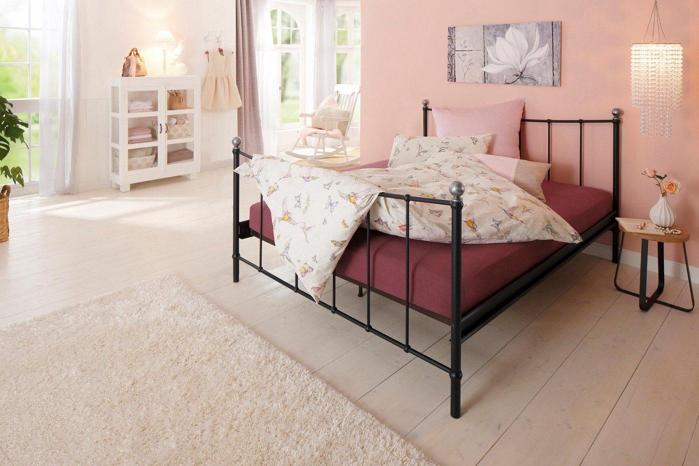 metallbett ohne fussteil machen sie den preisvergleich bei nextag. Black Bedroom Furniture Sets. Home Design Ideas