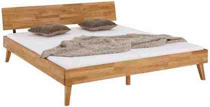Home affaire Bett »Natali«, aus massiver Eiche, in verschiedenen Breiten