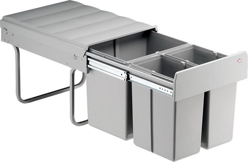 set one by Musterring WESCO Mülltrennsystem Master mit drei Behältern
