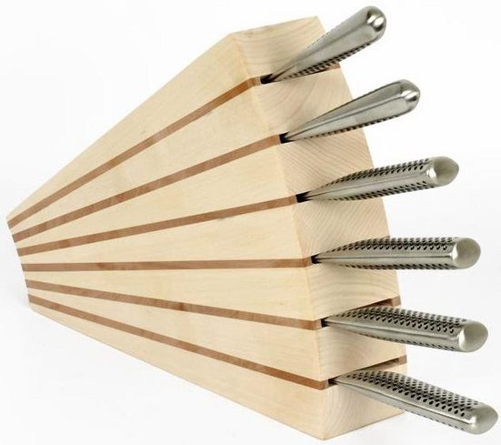 scanwood Messerblock (1tlg), Naturprodukt, in Handarbeit gefertigt