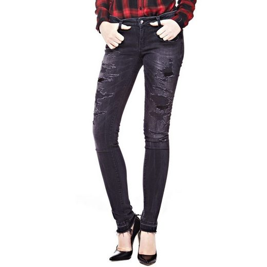 Guess Jeans Skinny Abrasion Make