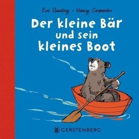 Buch mit Papp-Einband »Der kleine Bär und sein kleines Boot«