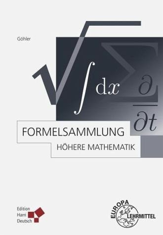 Broschiertes Buch »Formelsammlung Höhere Mathematik«