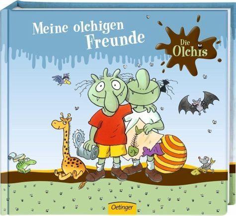 Gebundenes Buch »Die Olchis. Meine olchigen Freunde«