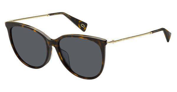 MARC JACOBS Marc Jacobs Damen Sonnenbrille » MARC 257/F/S«, braun, 086/IR - braun/grau