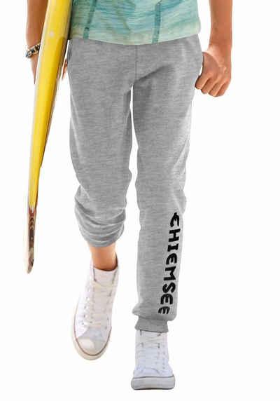 13e4691450faac Chiemsee Sweathose mit Nahttaschen und großem Logo-Druck