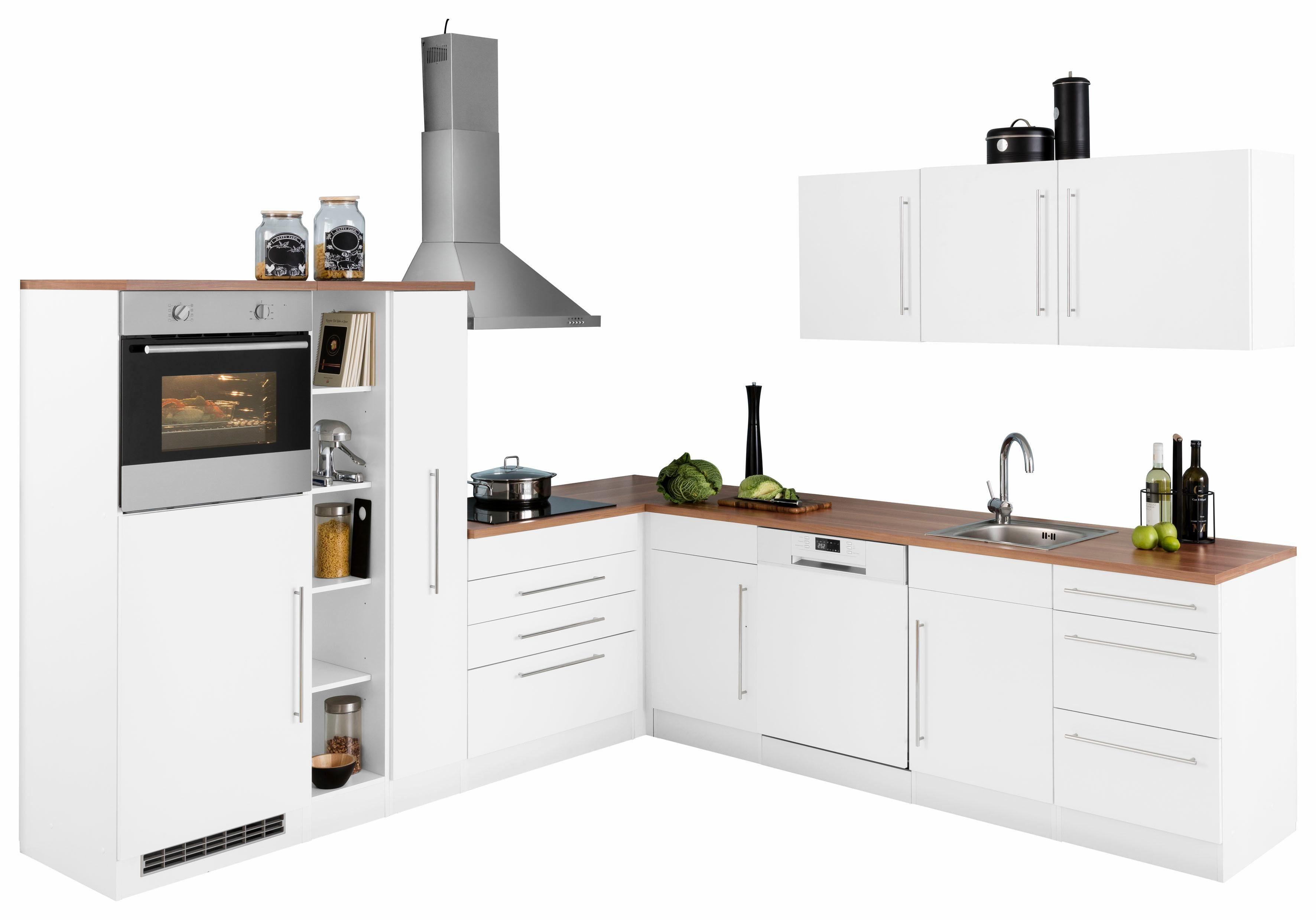 Miniküche Mit Geschirrspüler Ohne Kühlschrank : Küchenzeile mit geschirrspüler online kaufen otto