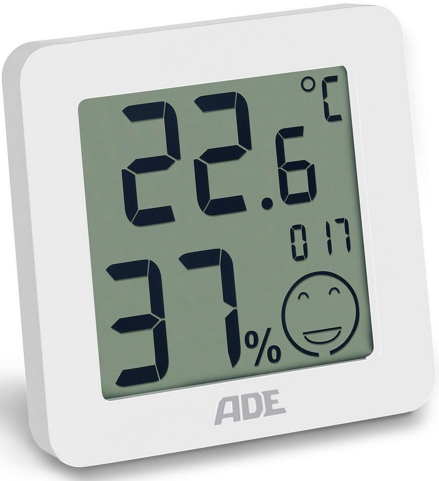ade thermo hygrometer ws 1707 in schwarz ws 1706 in. Black Bedroom Furniture Sets. Home Design Ideas