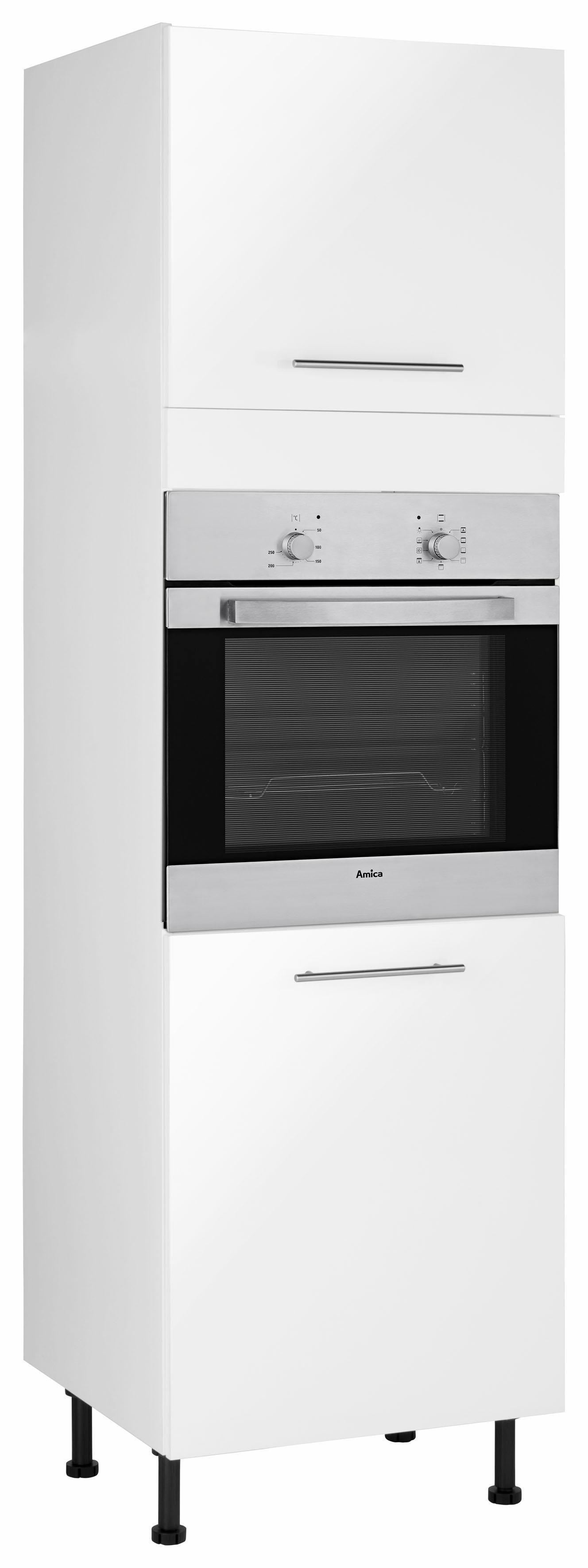 Wiho Küchen Backofenumbauschrank »Ela« | Küche und Esszimmer > Küchenschränke > Umbauschränke | Weiß - Glanz | Melamin | wiho Küchen