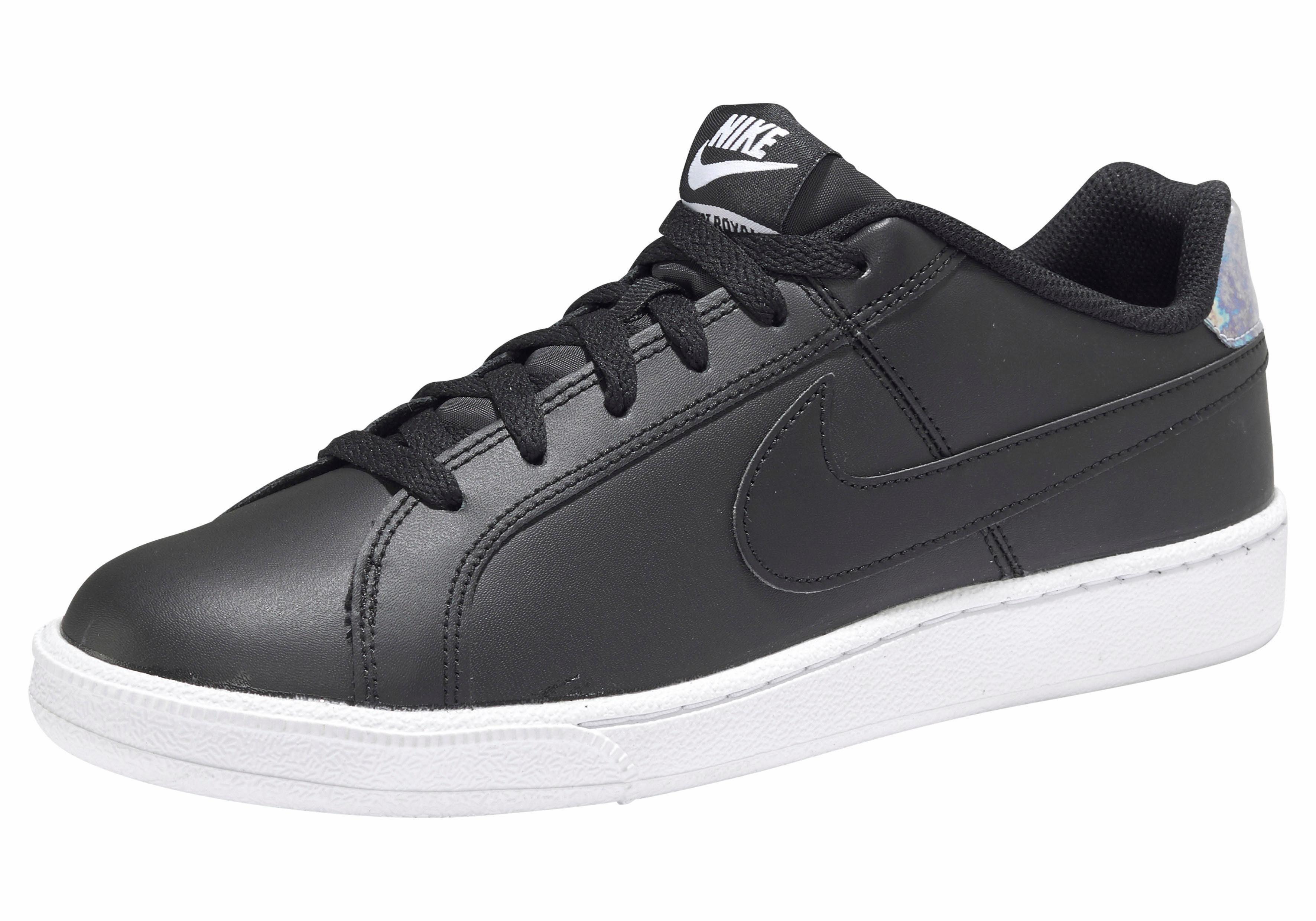 Nike Sportswear Wmns Court Royale metallic Sneaker online kaufen  schwarz-silberfarben