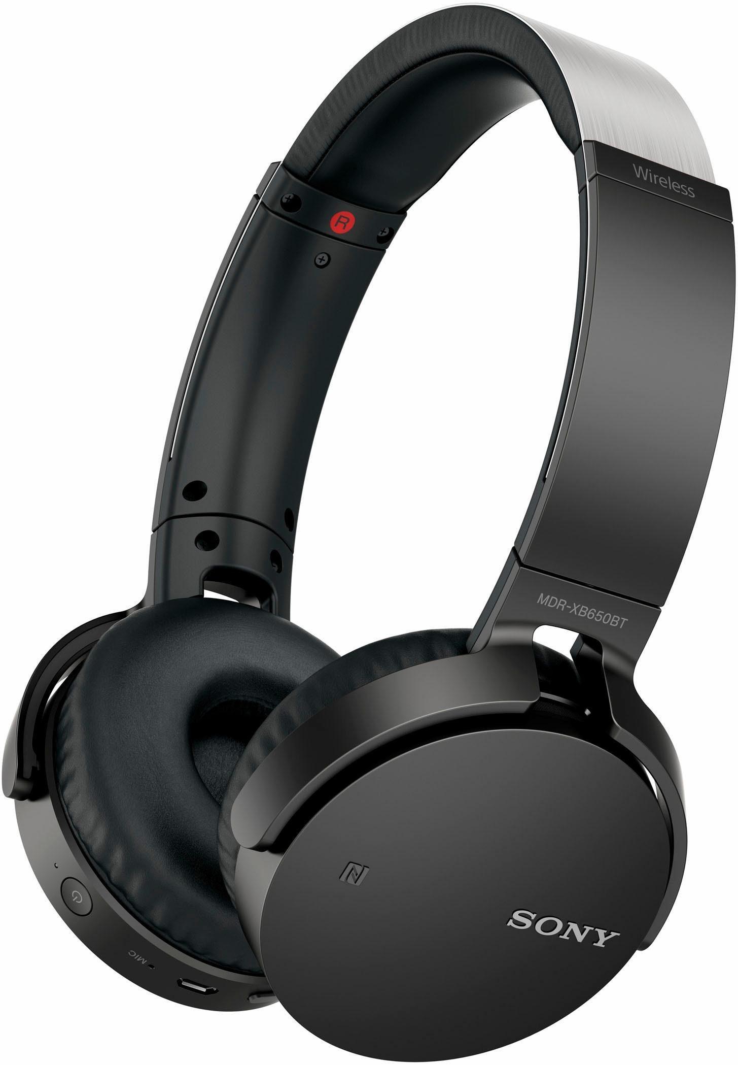 Sony »MDR-XB650BTB« On-Ear-Kopfhörer (Musik-Wiedergabedauer: 30 Stunden)