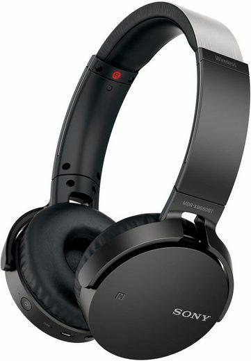 Sony »MDR-XB650BTB« On-Ear-Kopfhörer (Headset mit Mikrofon)